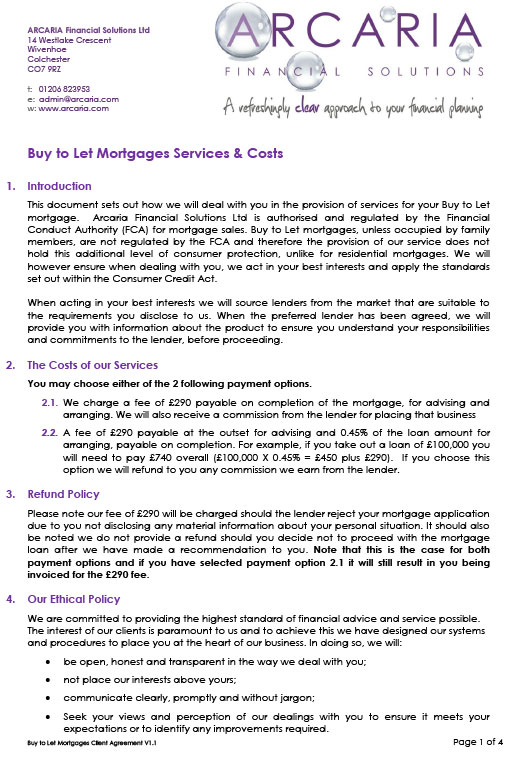 client agreement BTL pdf